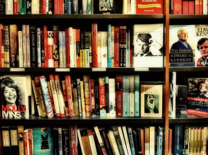 Bookstore Shelves