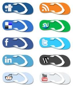Flip_Flop_Social_Media_Icons_by_EffBomb
