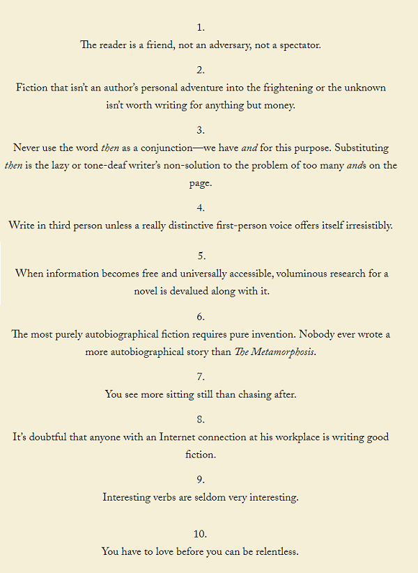 frantzen's rules